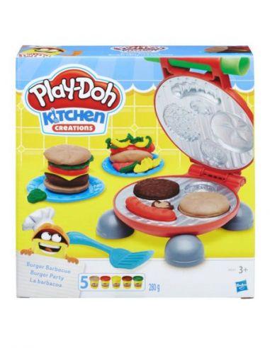Hasbro Original - La barbacoa - Juguete creativo - Play-Doh  - 3 AÑOS+ Envío Gratis - B5521EU6