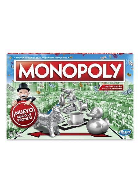 Hasbro Original - Monopoly Edición Cataluña - Juego de mesa - 8 AÑOS+ Envío Gratis - C1009118
