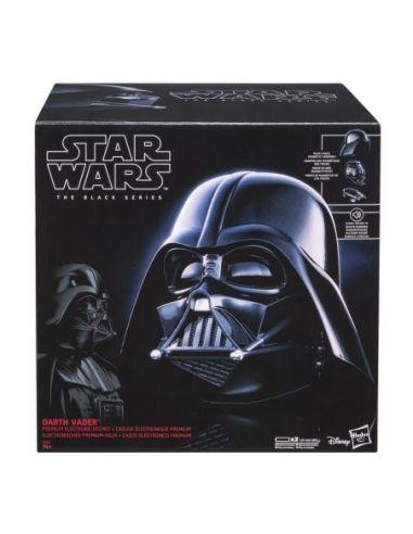Hasbro Original - Casco Electrónico Darth Vader - Accesorio - Star Wars The Black Series - 14 AÑOS+ Envío Gratis - E0328EU4