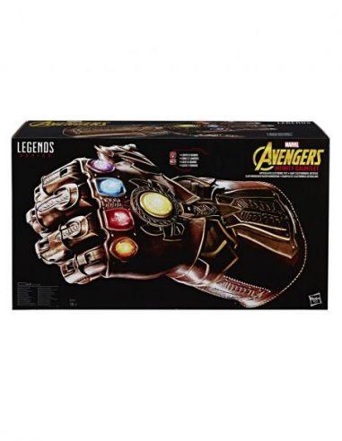 Hasbro Original - Guantelete del Infinito Thanos - Accesorio - Marvel Avengers Legend Series - 4 AÑOS+ Envío Gratis - E0491EU4