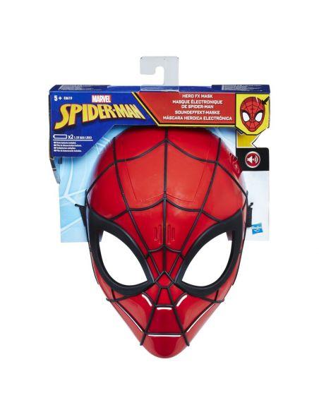 Hasbro Original - Máscara Electrónica Spiderman - Accesorio - Spiderman  - 5 AÑOS+ Envío Gratis - E0619EU4