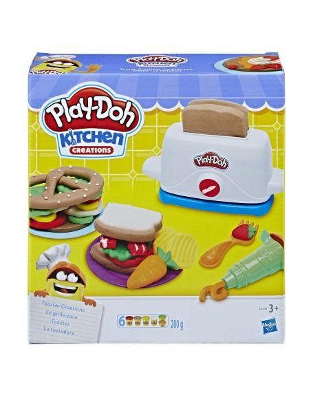 Hasbro Original - La Tostadora - Juguete creativo - Play-Doh  - 3 AÑOS+ Envío Gratis - E0039EU4
