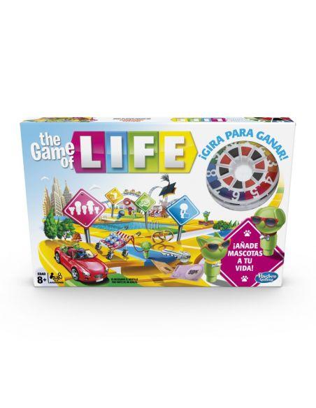 Game of Life - Juego de mesa - Hasbro Gaming  - 8 AÑOS+ Envío Gratis desde España - E4304105
