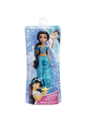 Hasbro Original - Jasmin - Muñeca - Princesas Disney Brillo Real - 3 AÑOS+ Envío Gratis - E4163ES2