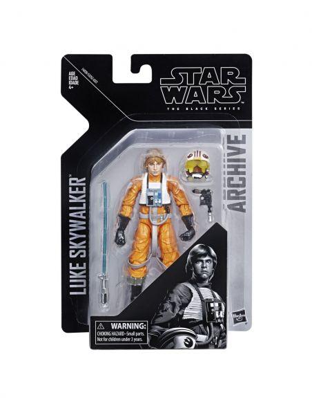 Hasbro Original - Luke Skywalker - Figura - Star Wars The Black Series - 4 AÑOS+ Envío Gratis - E4038EL2
