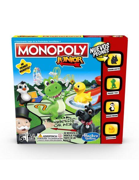 Hasbro Original - Monopoly Junior - Juego de mesa - 5 AÑOS+ Envío Gratis - A6984793