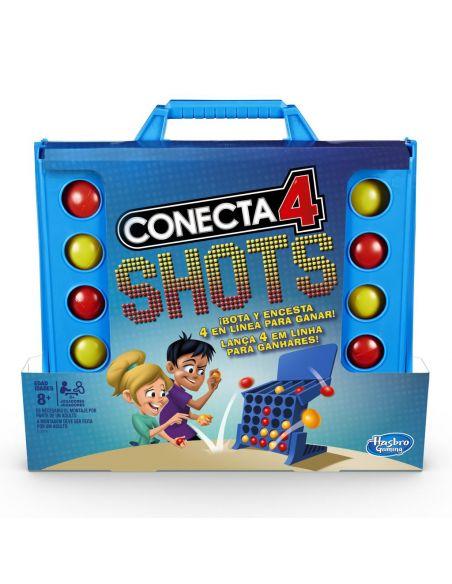 Conecta 4 Shots - Juego de mesa - Hasbro Gaming  - 8 AÑOS+ Envío Gratis desde España - E3578175