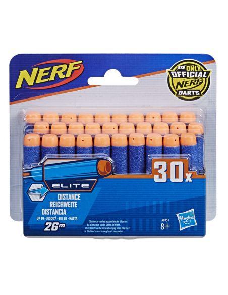Hasbro Original - Nerf Elite Recarga 30 Dardos - Lanza dardos - 8 AÑOS+ Envío Gratis - A0351EU6