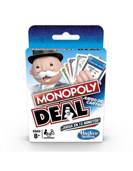 Hasbro Original - Monopoly Deal - Juego de cartas - 8 AÑOS+ Envío Gratis - E3113105