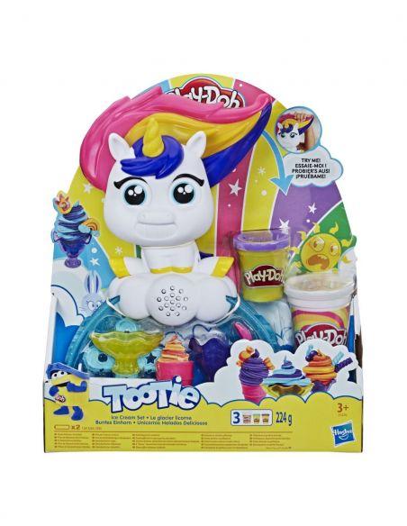 Hasbro Original - Unicornio Helados Deliciosos - Juguete creativo - Play-Doh  - 3 AÑOS+ Envío Gratis - E5376EU4