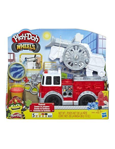Hasbro Original - Camión de Bomberos - Juguete creativo - Play-Doh  - 3 AÑOS+ Envío Gratis - E6103EU4