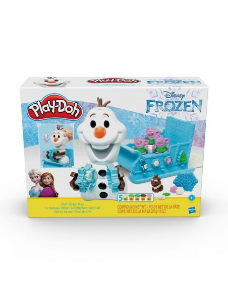 Hasbro Original - Olaf en Trineo - Juguete creativo - Play-Doh  - 3 AÑOS+ Envío Gratis - E5375EU4