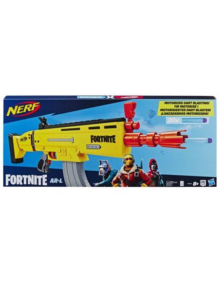 Hasbro Original - Nerf Elite Fortnite AR-L - Lanza dardos - 8 AÑOS+ Envío Gratis - E6158EU4