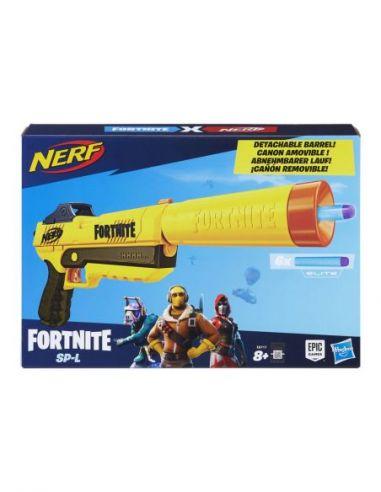 Hasbro Original - Nerf Elite Fortnite SP-L - Lanza dardos - 8 AÑOS+ Envío Gratis - E6717EU4