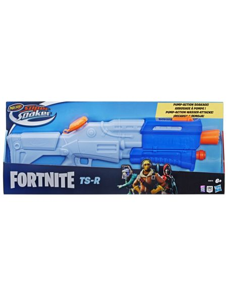 Hasbro Original - Nerf Supersoaker Fortnite TS-R - Pistola de agua - 6 AÑOS+ Envío Gratis - E6876EU4