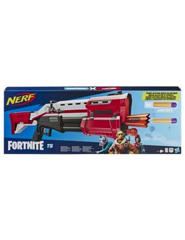 Hasbro Original - Nerf Elite Fortnite TS - Lanza dardos - 8 AÑOS+ Envío Gratis - E7065EU4