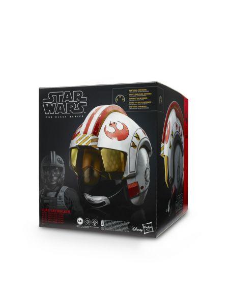 Hasbro Original - Casco Electrónico Luke Skywalker - Accesorio - Star Wars The Black Series - 14 AÑOS+ Envío Gratis - E5805EW0
