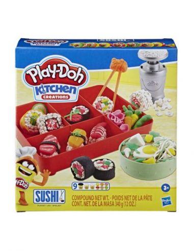 Hasbro Original - Máquina de Sushi - Juguete creativo - Play-Doh  - 3 AÑOS+ Envío Gratis - E79155L0