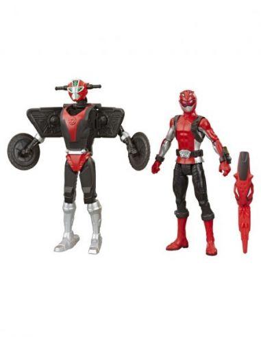 Ranger Rojo y Morphin Cruise Beastbot...