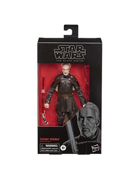 Hasbro Original - Conde Dooku - Figura - Star Wars The Black Series - 4 AÑOS+ Envío Gratis - E8072ES0