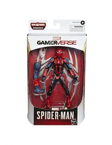 Hasbro Original - Zack - Figura - Spiderman Gamer Verse - 4 AÑOS+ Envío Gratis - E81205X0
