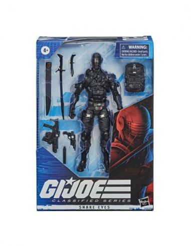 Hasbro Original - Snake Eyes - Figura - Gi Joe Classified Series - 4 AÑOS+ Envío Gratis - E84905X0